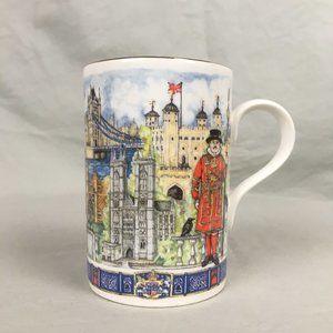 James Sadler Thameside Coffee Tea Mug Bone China